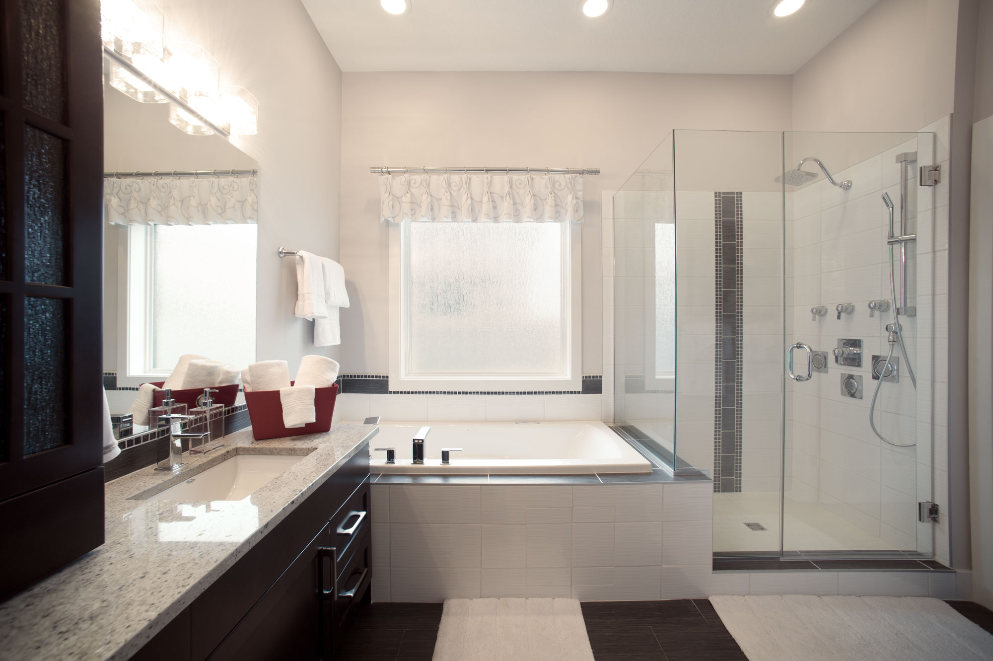 Ensuite Bathroom Edmonton new homes in edmonton - urbanity custom homes ltd